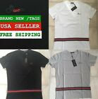 NEW GUCCI MEN'S T-SHIRT V-NECK ALL SIZES 3 COLORS BRAND NEW FREE SHIPPING
