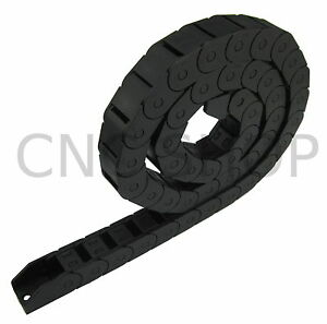 15X15-EASY-OPEN-CABLE-CARRIER-DRAG-CHAIN-WIRE-FLEX-PLASTIC-TOW-LINE-DIY-CNC