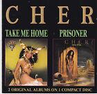 CD 26T CHER 2 ALBUMS ON ONE CD TAKE ME HOME & PRISONER DE 1990 CASABLANCA RECORD