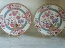 two antique cauldon plates for display art nouveau period indian tree 1915