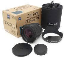 Contax Carl Zeiss N Vario-Sonnar 17-35mm F2.8 T* Lens. GB-103 Hood. Case. Box