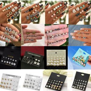 3-6-9-12-24-Pairs-Fashion-Crystal-Pearl-Earrings-Set-Women-Ear-Stud-Jewelry-Gift