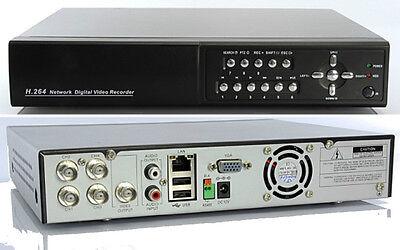Compiacente 1 Videoregistratore H264-3g-ip In Italiano 4 Canali Lan- A Vendendo Bene In Tutto Il Mondo