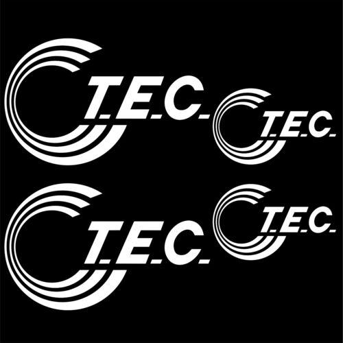 TEC aufkleber sticker wohnmobil camper wohnwagen caravan 4 Stücke Pieces