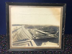 Original-Early-1889-039-s-Lake-Kensico-Dam-NY-Photo-Picture-Downstream-Face-Rare