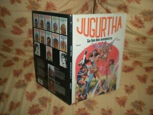 JUGURTHA-N-11-LE-FEU-DES-SOUVENIRS-EO-JUIN-1983-AVEC-DEDICACE-VERNAL