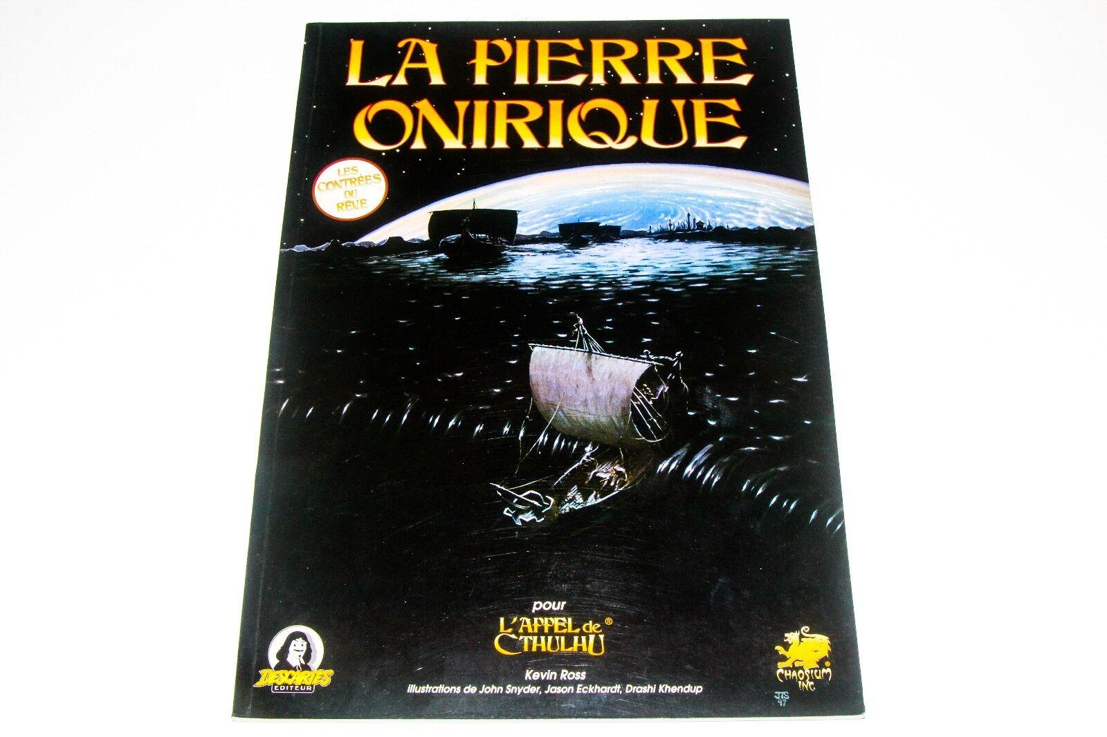 L'APPEL DE CTHULHU - LA LA LA PIERRE ONIRIQUE - DESCARTES 808766