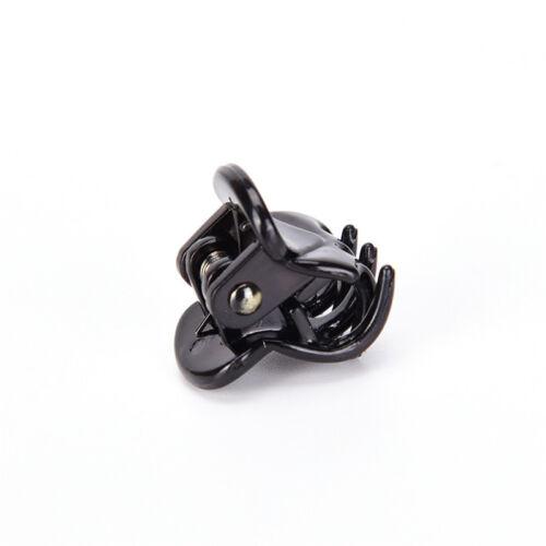 Fashion Women Girls 12pcs Black Plastic Mini Hairpin 6 Claws Hair Clip Clamp DO