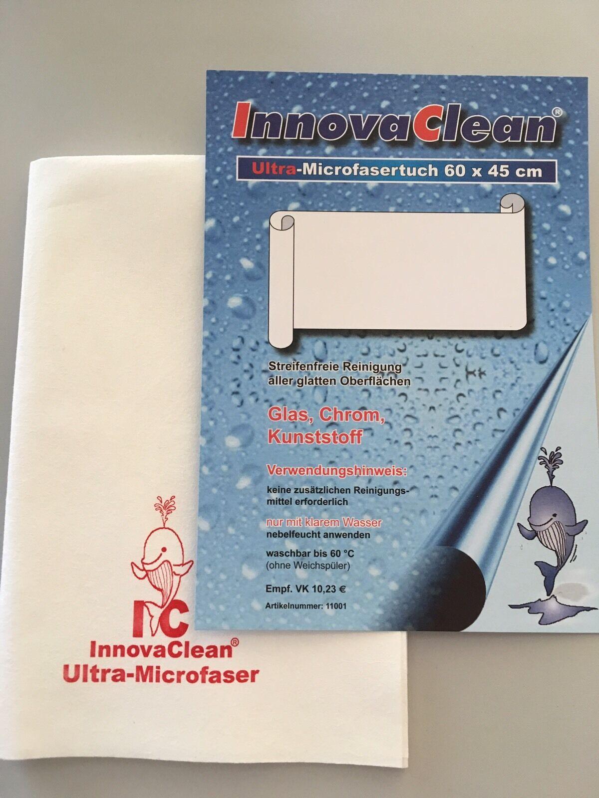 5 Stk. IC Ultra Microfasertuch 60x45 Mikrofasertuch Fenstertuch InnovaClean | Online Outlet Shop  | Schenken Sie Ihrem Kind eine glückliche Kindheit