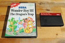 Jeu WONDER BOY III 3 THE DRAGON'S TRAP pour Sega MASTER SYSTEM (pas de notice)