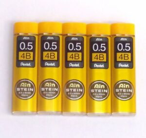 **vente** Pentel Ain Stein C275-4b 0.5mm Recharges Pour Porte-mine (5tubes) ProcéDéS De Teinture Minutieux