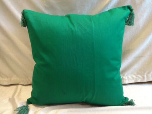 """30/"""" with tassels 100/% cotton pillow case cushion cover solid color 12/"""""""