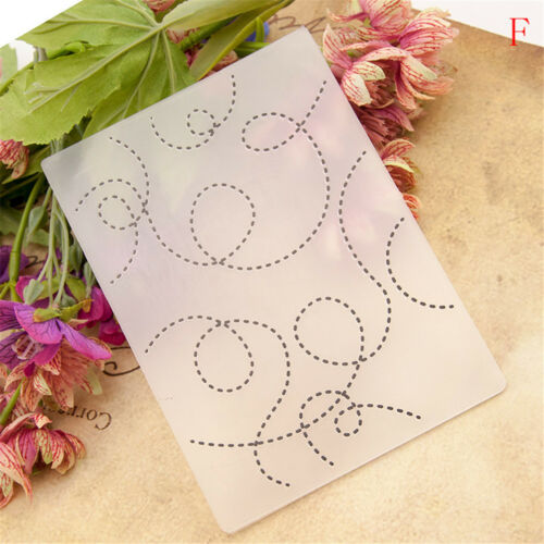 Embossing folders Plastic Embossing Folder For Scrapbooking Photo Album CarRSDE