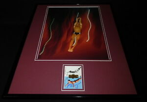 Greg-Louganis-Signed-Framed-16x20-Photo-Display-Olympic-Diver