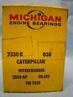 Caterpillar D4 Tractor 350 425 4 Cyl Rod Bearing Set 030 Nors