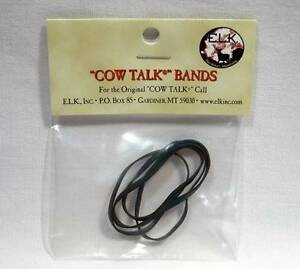 INC. COW TALK CALL REPLACEMENT BANDS by E.L.K