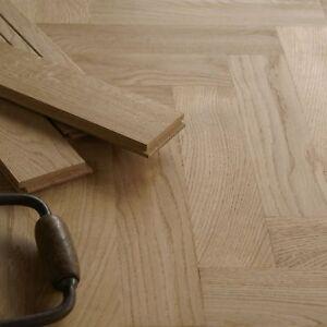 Solid Smoked Oak Flooring Prime Grade Hardwood Unfinished Fumed Dark DS28