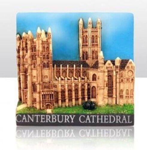 la Grande-Bretagne Canterbury Cathedral Great Britain poly souvenir Aimant souvenir