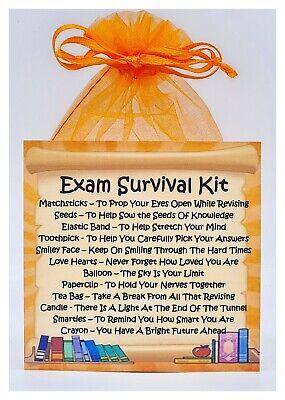 Good Luck Congratulations SURVIVAL KIT IN A CAN Fun Gift /& Card Graduation