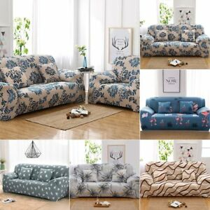 Uk Universal Stretch Elastic Fabric Sofa Cover Sectional Corner