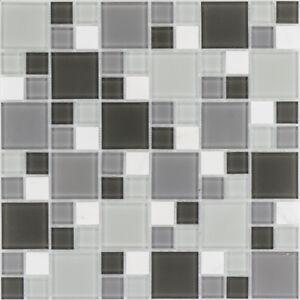 Naturstein-Glasmosaik-Marmor-weiss-grau-Wand-Bad-Fliesenspiegel-1Matte-ES-54404