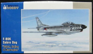 Special-Hobby-Models-1-48-NORTH-AMERICAN-F-86K-SABRE-DOG-Jet-Fighter