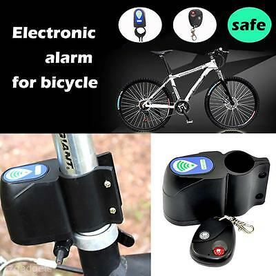 8 Digits Wireless Bicycle Bike Security System With Remote Control Anti-Theft