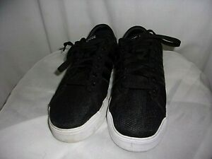Details about Adidas Neo Black/White Men's Casual Shoes Lace Up Sneakers SZ 8.5 Style# 1Y3001