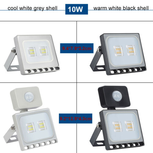 Led Floodlight 10W 20W 30W 100W 200W 500W Outdoor Security Spot Light IP65 UK