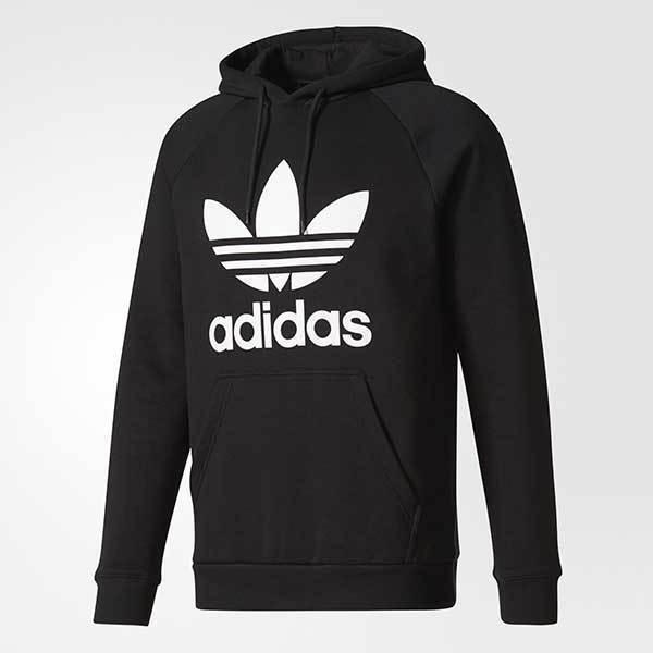 Perseguir Pasivo Producción  Adidas Originals Trefoil Hoodie BR4852 Black/White Men's 2XL BNWT FREE  SHIPPING for sale online