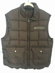 Ralph Lauren Polo Jeans Military Surplus Down Puffer Vest ...