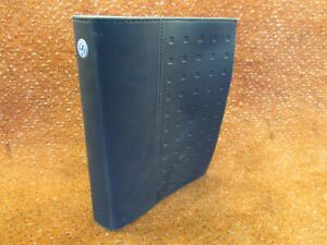 Original-Log-Board-Binder-Operating-Instructions-Solution-English-VW-Jetta-1K