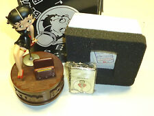 """BETTY BOOP ZIPPO & MUSIC BOX """"I WANNA BE LOVED BY YOU""""-LIMITED EDITION -1998-OVP"""