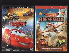 CARS & PLANES FIRE & RESCUE WALT DISNEY PIXAR DVD SET AUTHENTIC & EXCELLENT