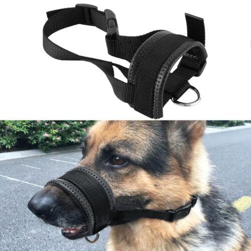 Collar de perro de cabeza de perro de nylon suave Bozal Lazo Grande 3 TAMAÑOS L XL XXL