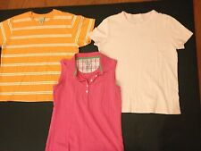 Womens  Tee Tops Sleeveless Polo Shirt SMALL 6-8 / LL BEAN - Lands End - IZOD
