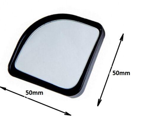 1 Paire Rétroviseur Convexe Miroir D/'Angle Mort Grand Angle Poussoir Réglable