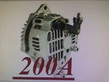 HIGH OUTPUT 200AMP ALTERNATOR Fits MAZDA RX-7 1.3L L4 1993 1994 1995 200 HIGHAMP