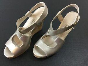 8d11dd29b081 Dana Buchman Wedge Shoe Women s 6M Silver Cork 4