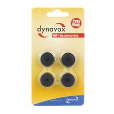 Dynavox Aluminium Gerätefüsse mini schwarz 4er-Set