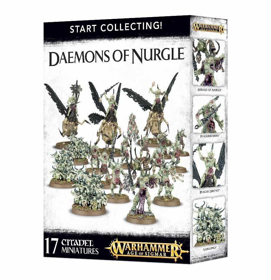 Warhammer Age  Of Sigmar  estrellat Collecting  Daemons of Nurgle 70-98  gli ultimi modelli