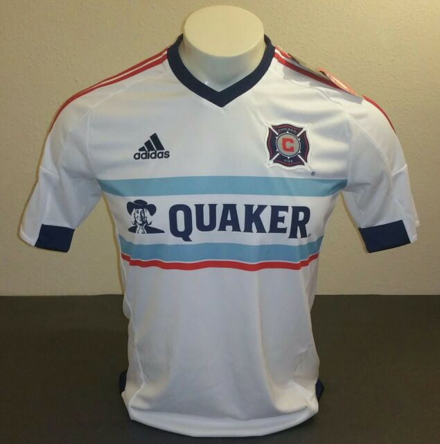 b1fba21d6 adidas Chicago Fire Away Jersey 15 White red Size S for sale online ...