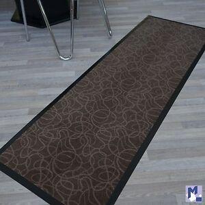 dekoclean lines 60x180 cm sauberlauf l ufer braun f r k che bar theke ebay. Black Bedroom Furniture Sets. Home Design Ideas