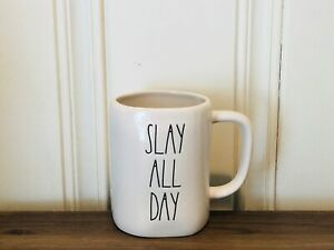 Rae-Dunn-Artisan-Collection-By-Magenta-SLAY-ALL-DAY-LL-Farmhouse-Ivory-Mug
