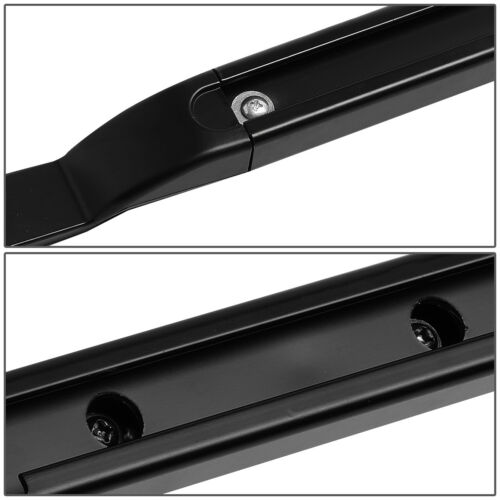 FOR 05-16 LAND ROVER LR3//LR4 ALUMINUM OE ROOF RACK SIDE RAIL BAR LH+RH BLACK