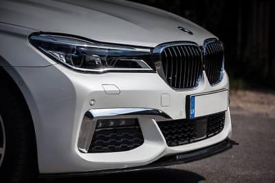 For BMW F10 F11 M Sport Front Bumper lip chin Power skirt splitter valance apron
