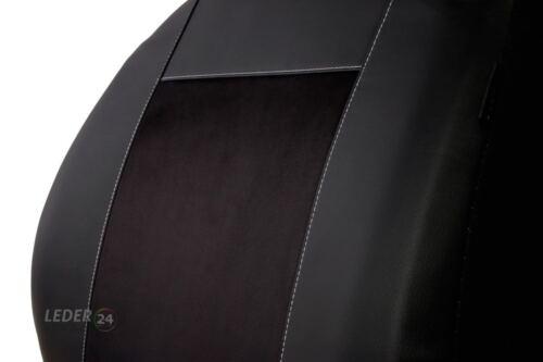 T5 Passat Kunstleder  SITZBEZÜGE AUTO SCHWARZ VW Polo Jetta T 4 Lupo