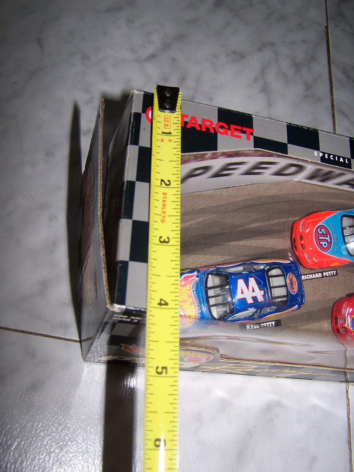 Hot Wheels By Mattel NASCAR PRO RACING 43,44,45 Petty Petty Petty Generation (1998) Special 346174