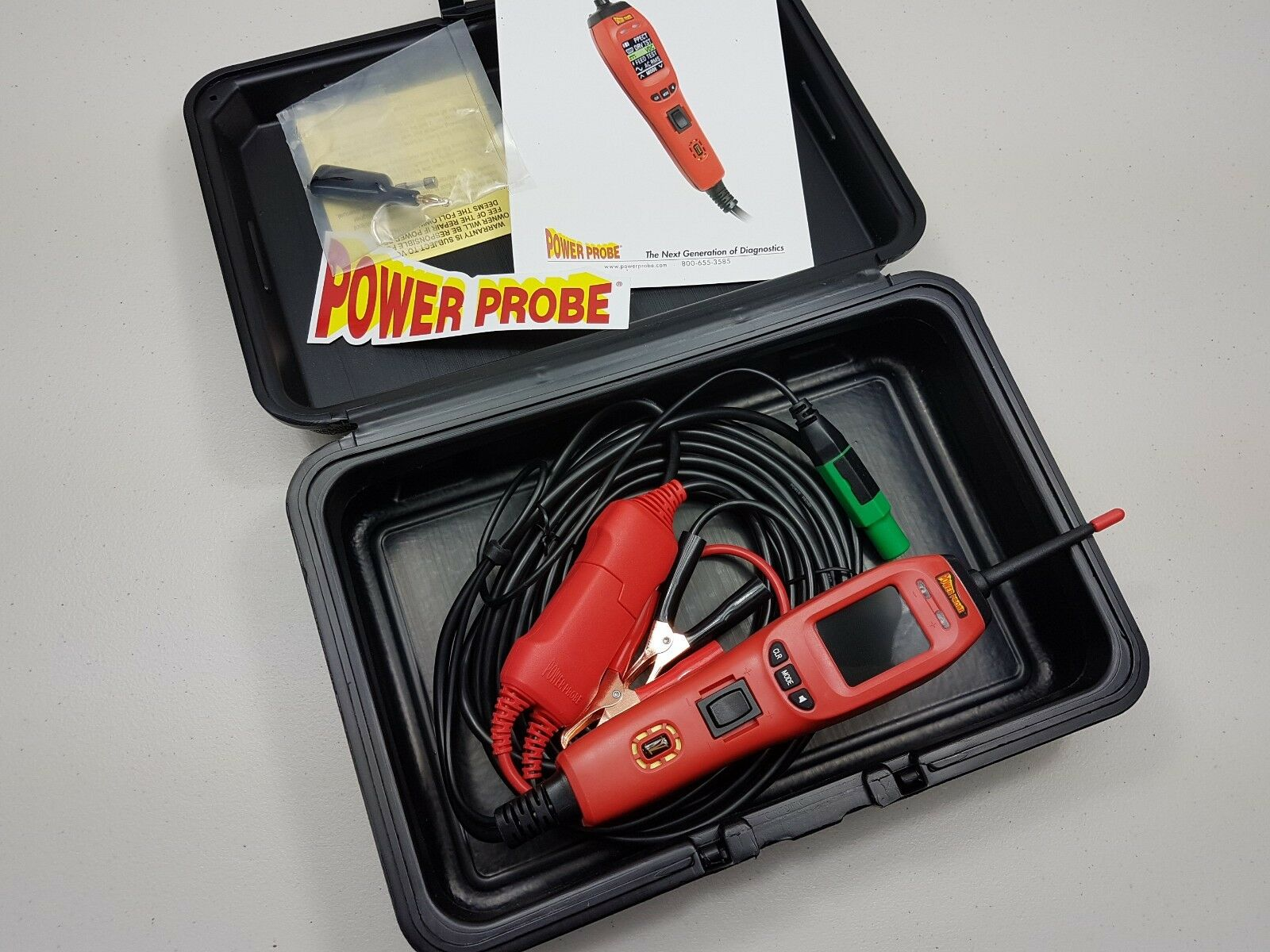 Power Probe 4 Circuit Tester Powerprobe Iv Diagnostic Tool Pp4 Details About Sealey Pp1 Auto 12v Electrical Norton Secured Powered By Verisign