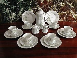 Hutschenreuther-RACINE-Camargue-21-Piece-Coffee-Service-for-6-persons